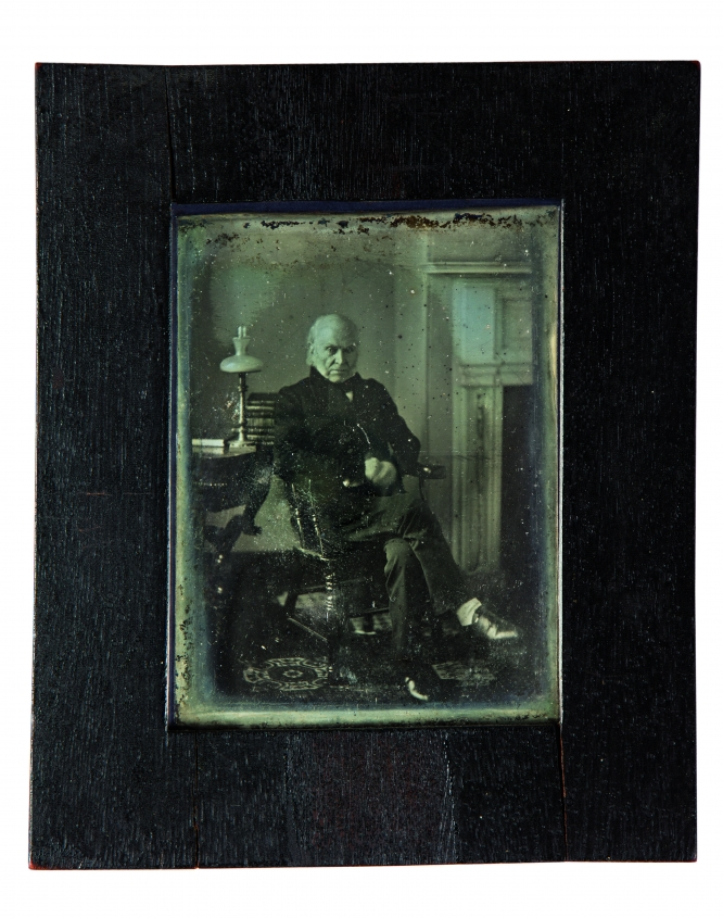 John Quincy Adams photograph