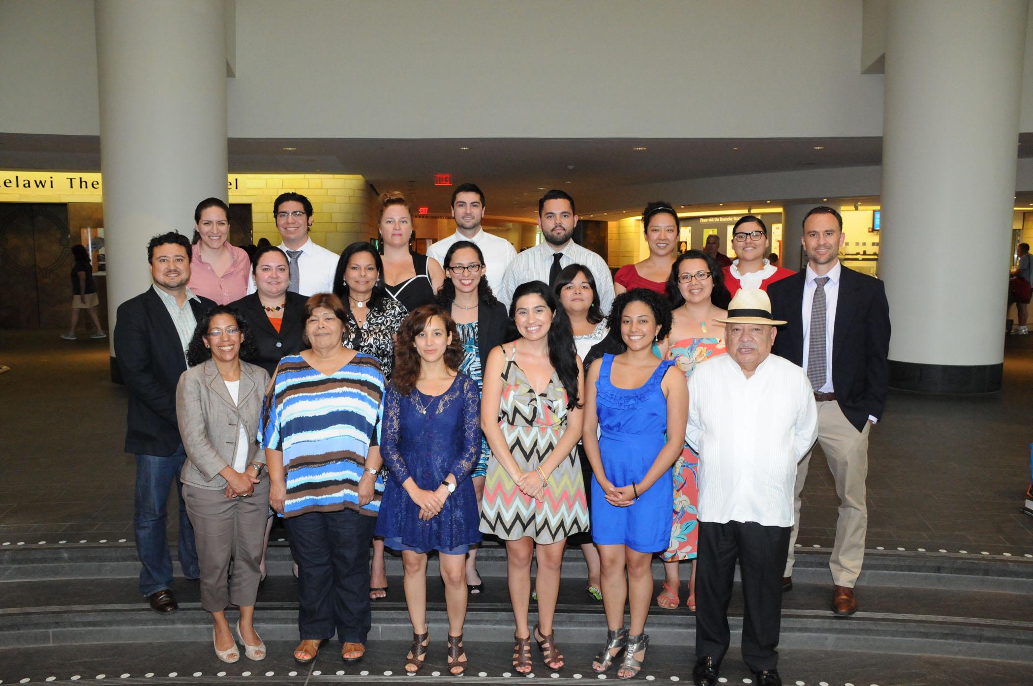 Latino Museum Studies Program, 2012. Images courtesy of Smithsonian Latino Cente