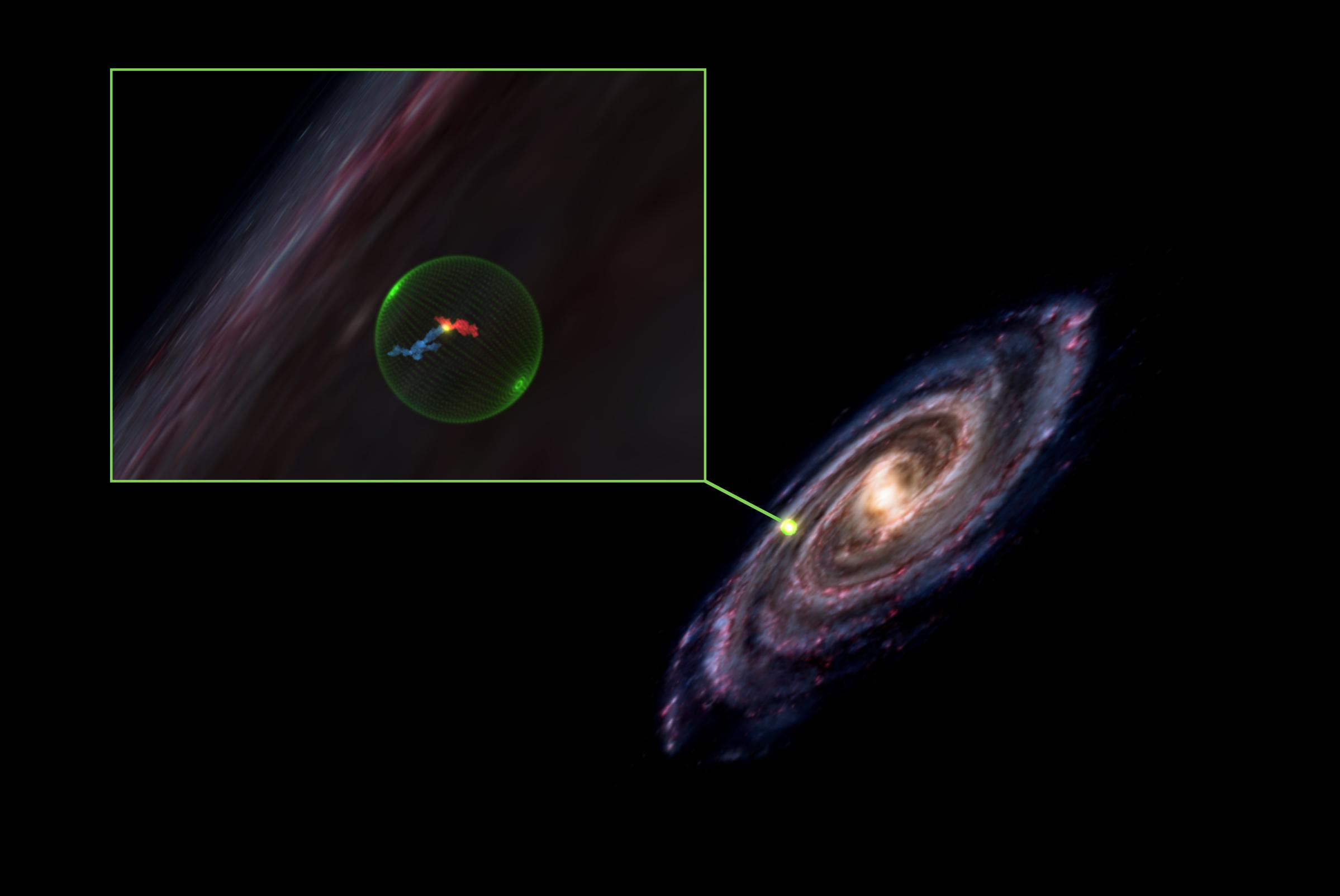 Illustration of Milky Way