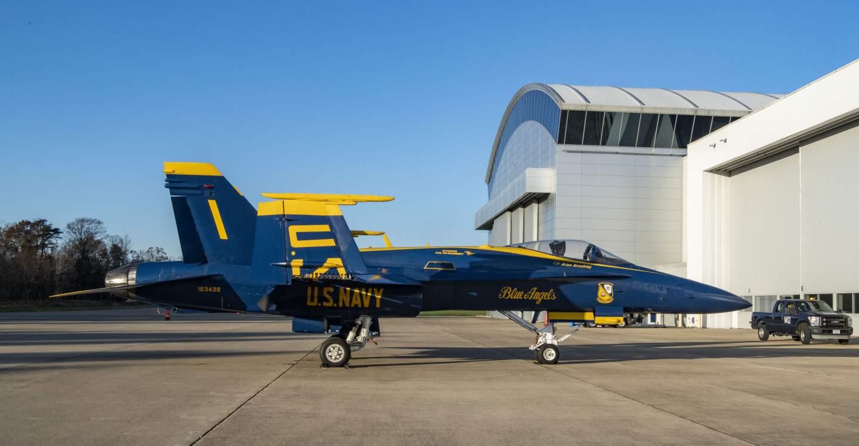 Blue Hornet jet