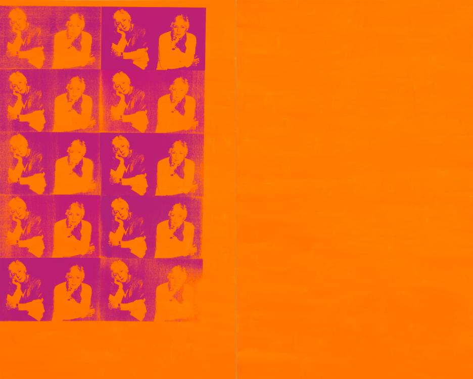 """""""Orange Disaster (Linda Nochlin)"""""""