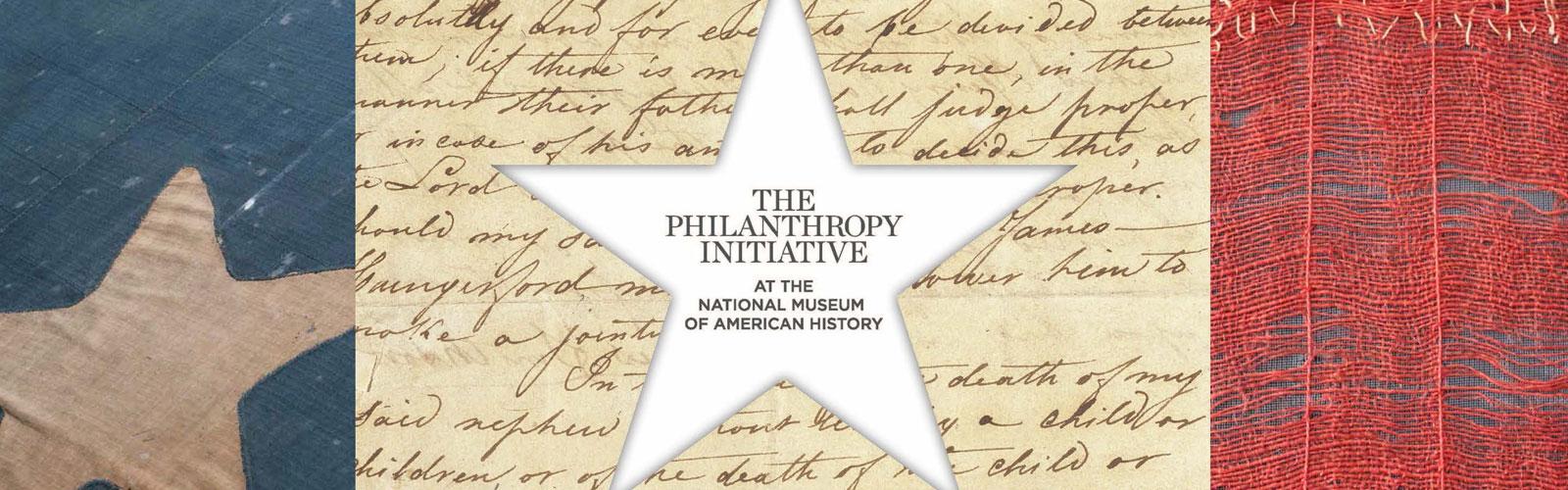 Philanthropy banner