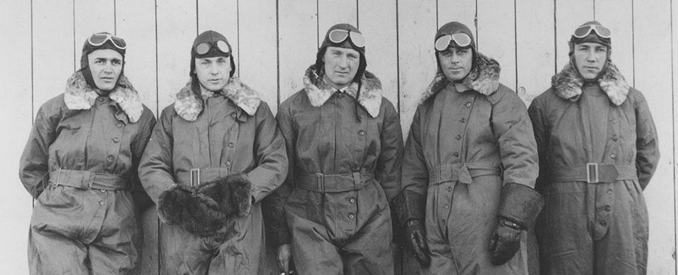 Airmail pilots