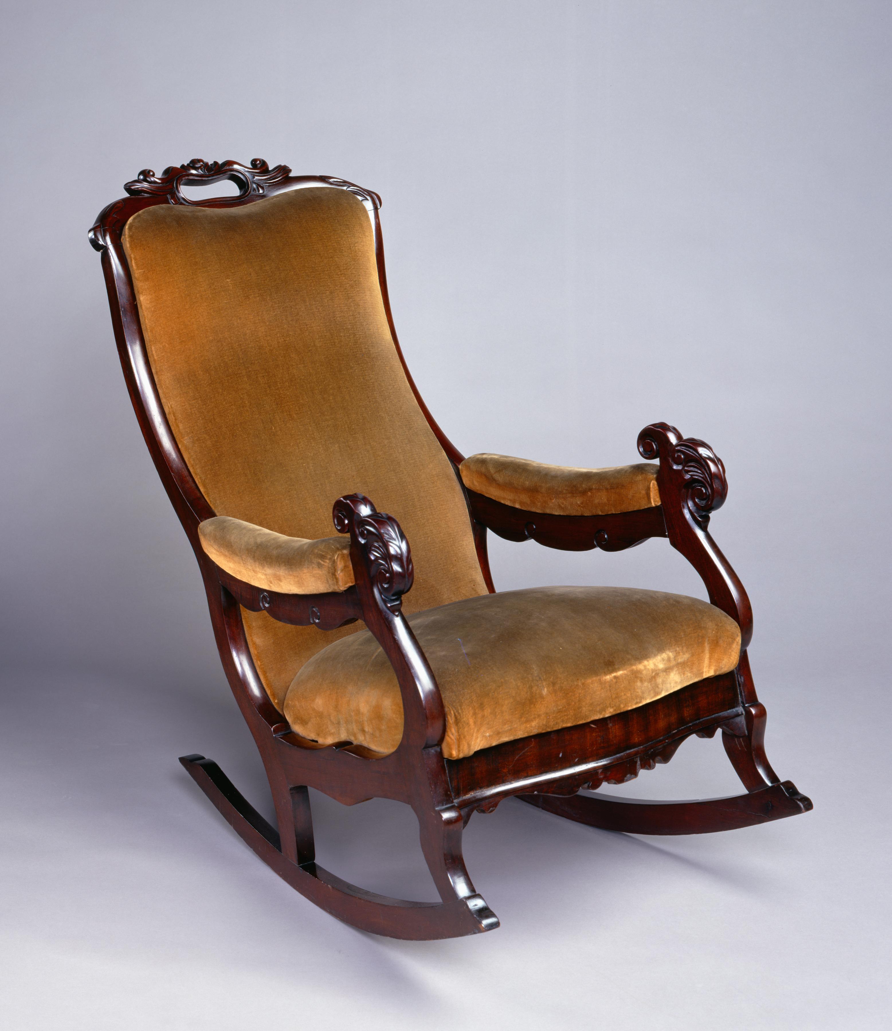 Thomas Day rocking chair