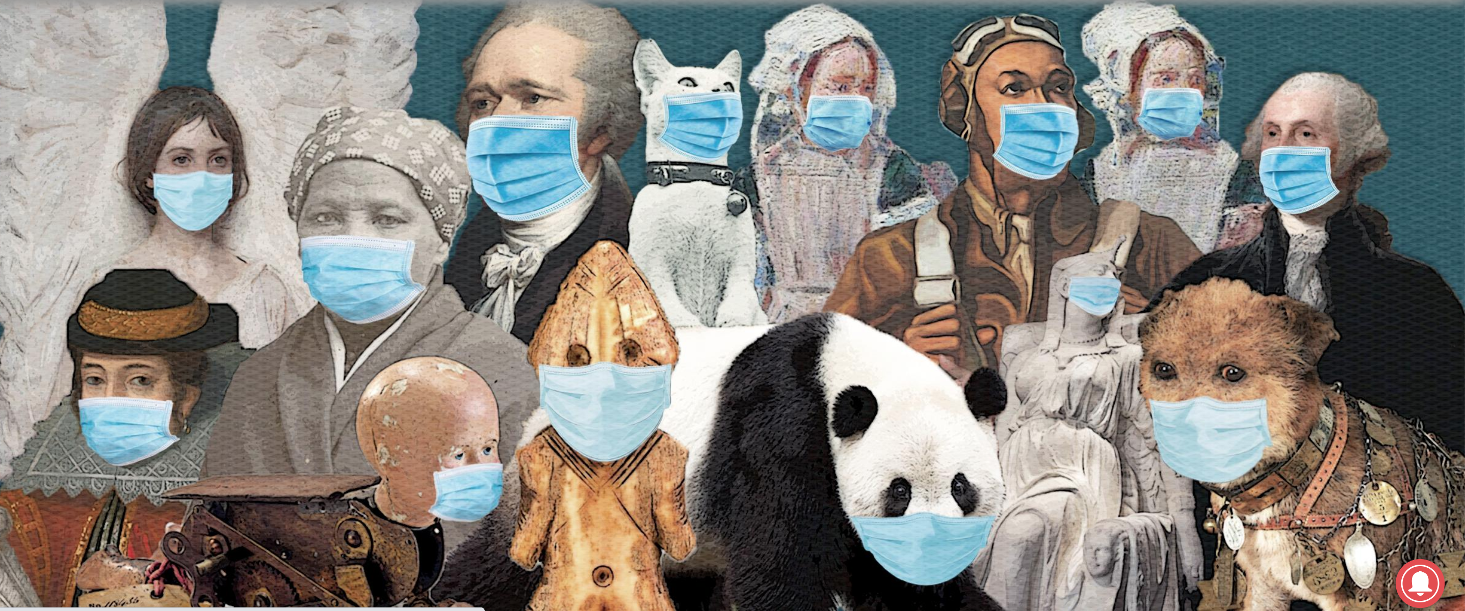 Masks graphic from Smithsonian Magazine