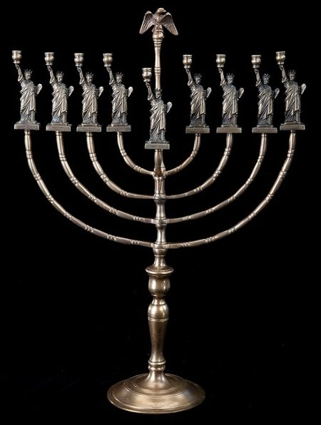 liberty menorah