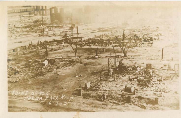 ruins of the Tulsa Race Riot