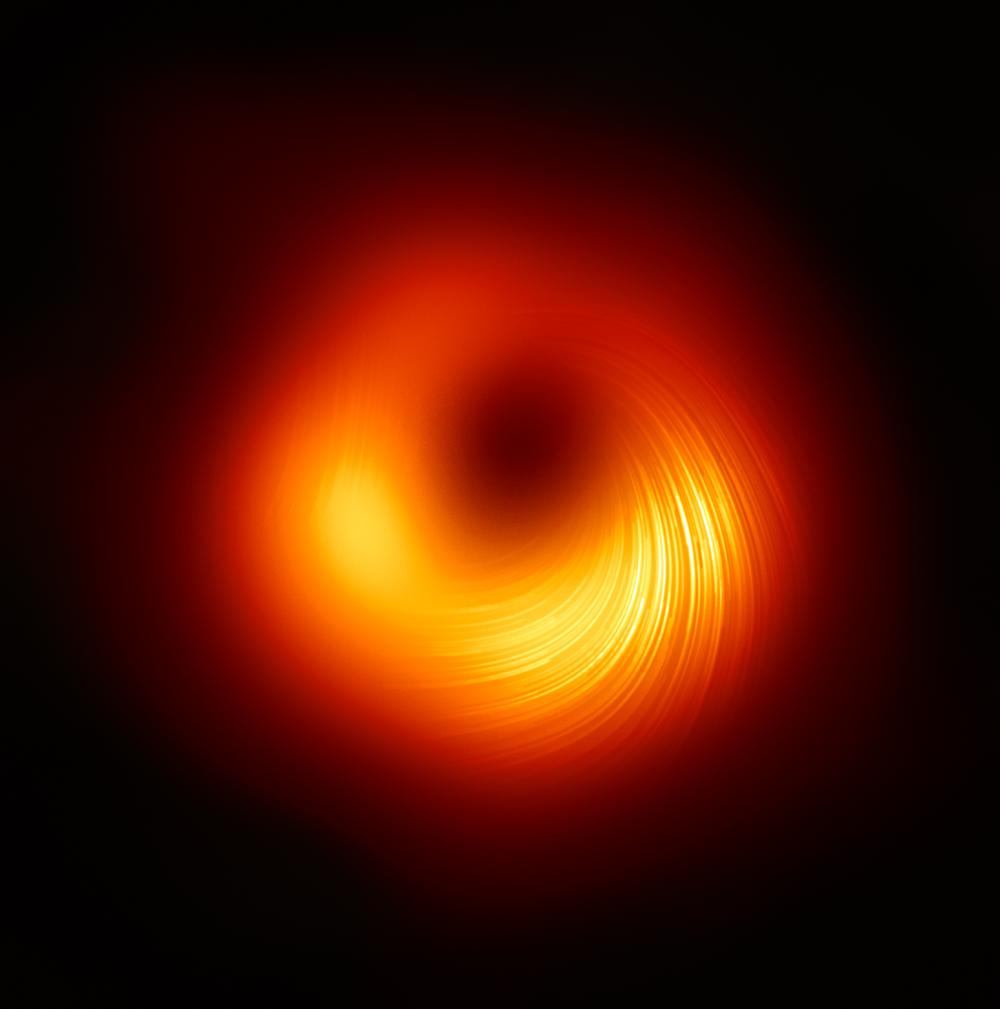 Supermassive Black Hole Magnetic Field