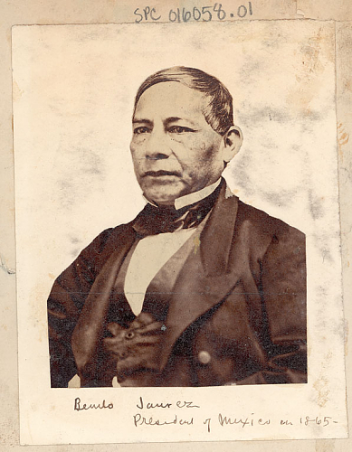 portrait of Benito Juarez