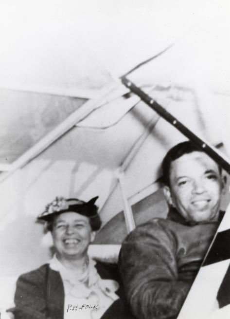 Eleanor Roosevelt at Tuskegee, 1941