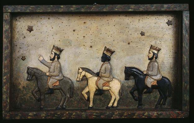 """""""Los Reyes Magos,"""" attributed to Hipolito Marte Martinez"""