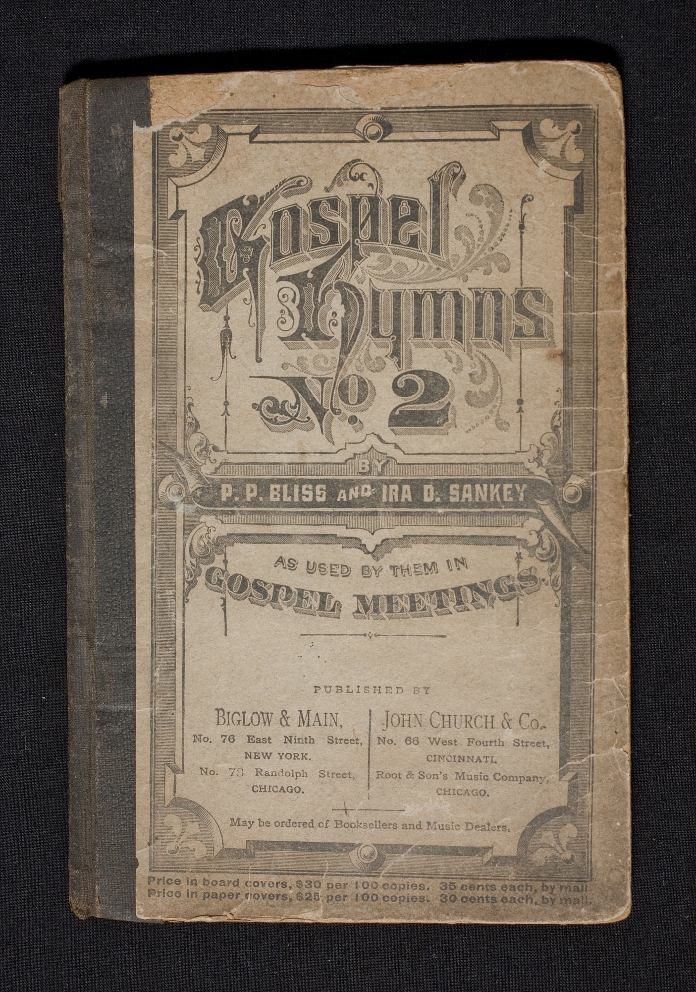 Harriet Tubman's Personal Hymn Book