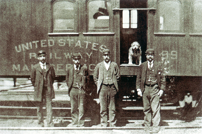 Owney the Dog, 1911