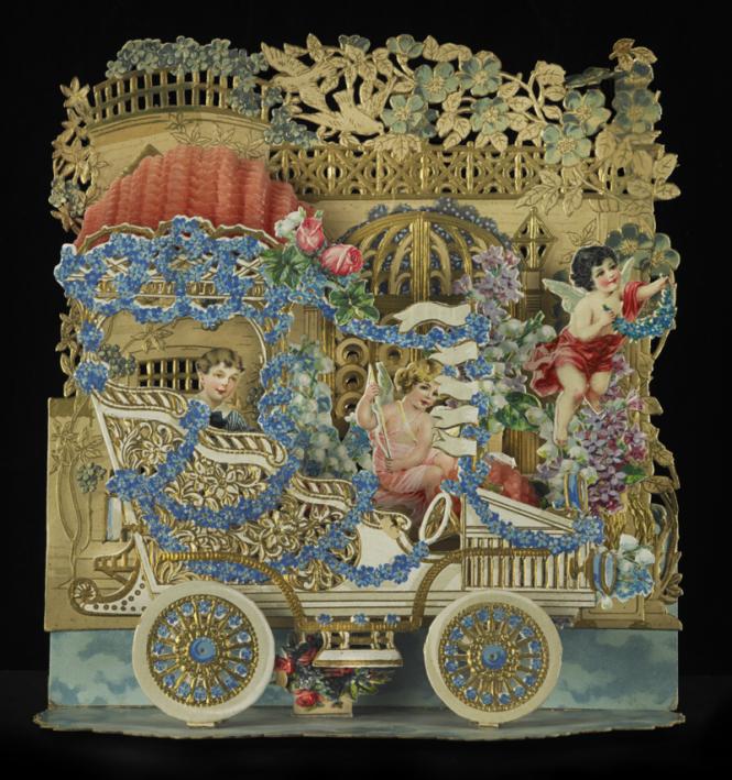 elaborate Victorian card