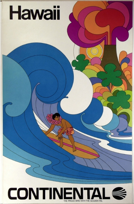 Airline Poster, c. 1969