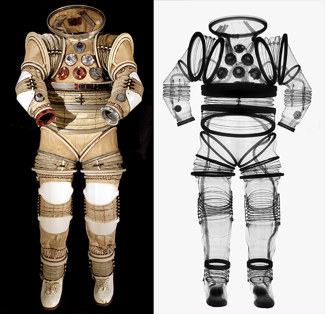 X-rayed Spacesuit