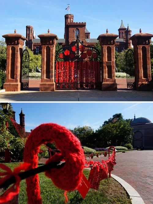 "Smithsonian Gets ""Yarnbombed"""