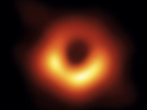 2019 Cover with first photo of a black hole.