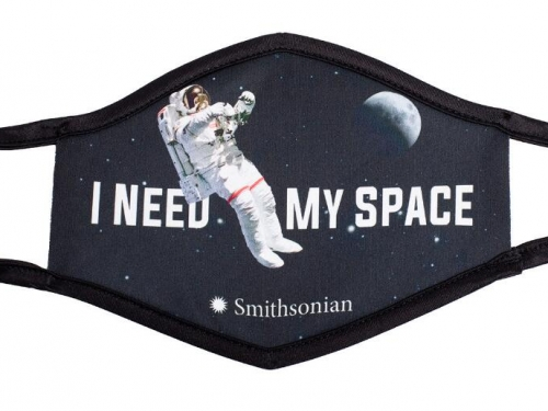 I need my space face mask.