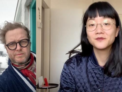 Ragnar Kjartaansson and Christine Sun Kim