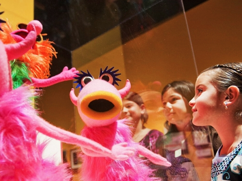 SITES exhibit Jim Henson's Fantastic World