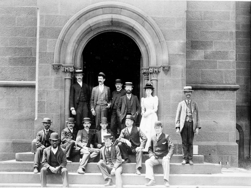 Smithsonian employees, historic