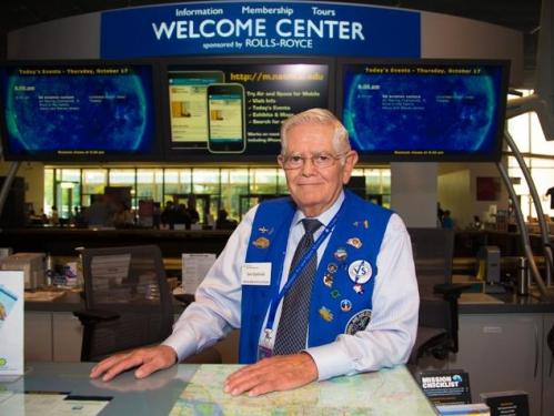 Volunteer at Air and Space Museum