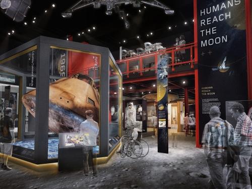Artists rendering of Moon Gallery