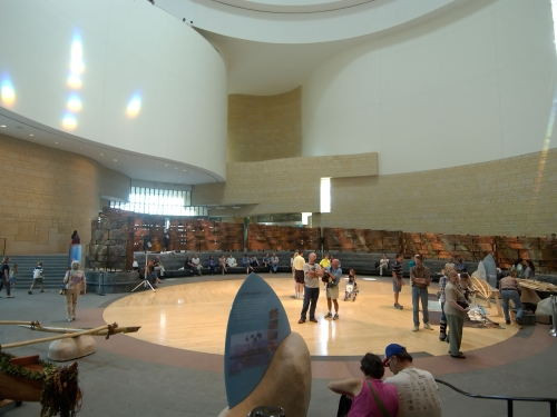 National Museum of the American Indian - Potomac Atrium