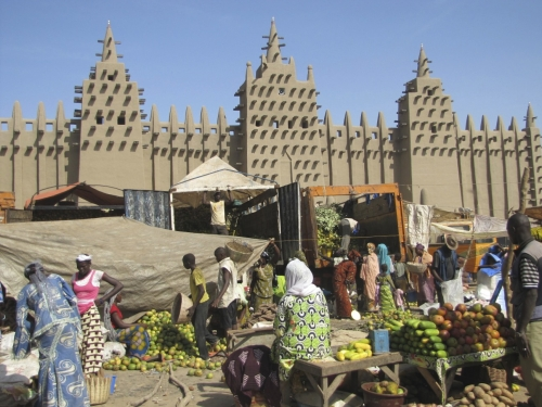 Restored Djenné Mosque