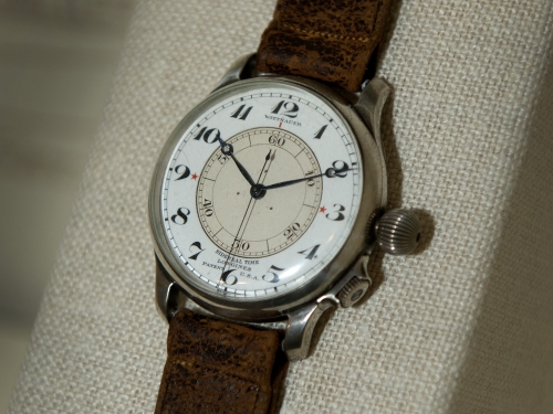 Time and Navigation - Longines Sidereal Second-Setting watch