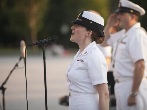 Navy singer