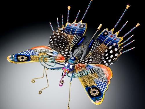 enameled butterfly