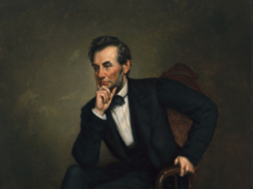 Portrait of Lincoln
