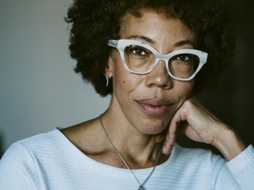 Portrait of artist Amy Sherald