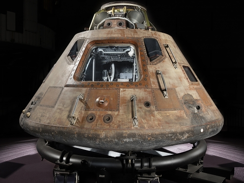 Command Module on display
