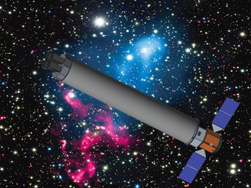 artists rendering of telescope