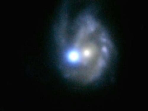 Optical image of spiral galaxy