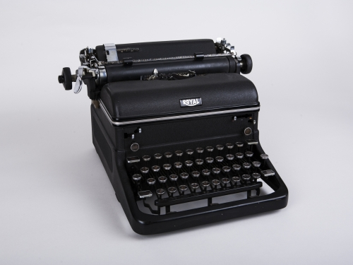 Typewriter owned by Frank Bolden