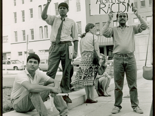 Indian Youth Against Racism rally