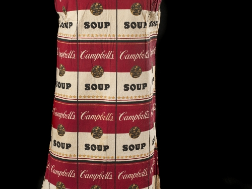 Campbell Soup Company paper dress