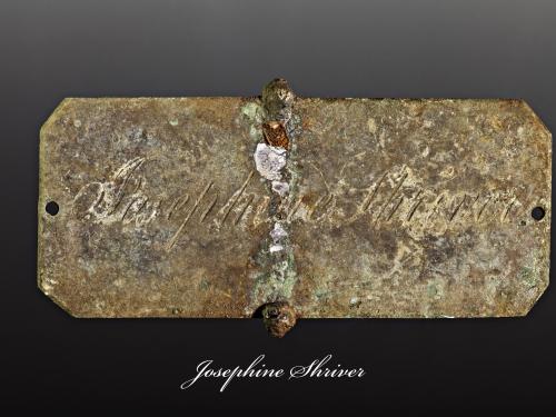 Jacqueline Shriver nameplate