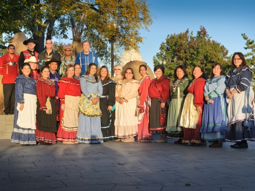 Chickasaw performers