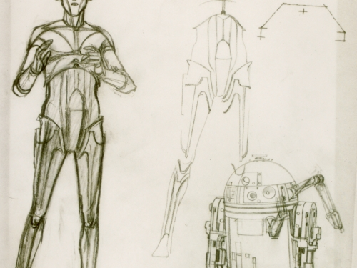Star Wars Costume: Concept Art C-3PO and R2-D2