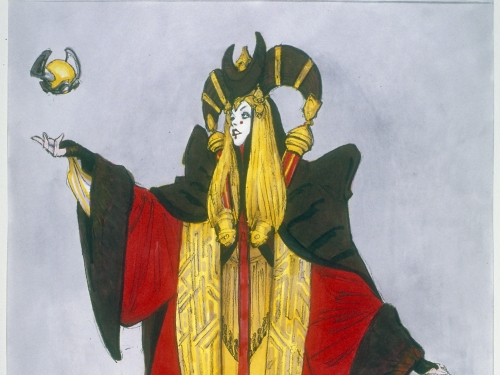 Star Wars Costume: Concept Art Queen Amidala Senate Gown