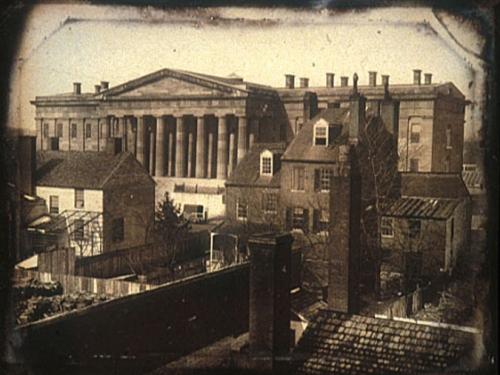 Patent Office Building Daguerreotype, 1846