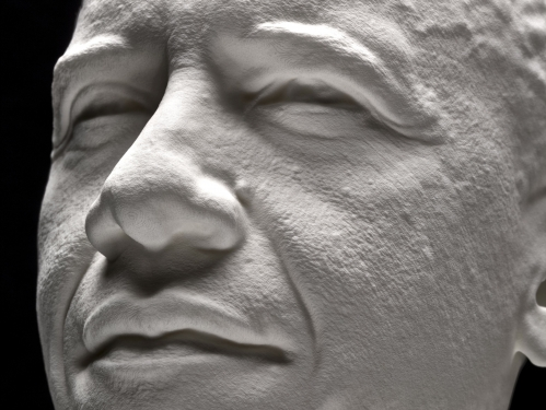 3D scan of Obama's head.