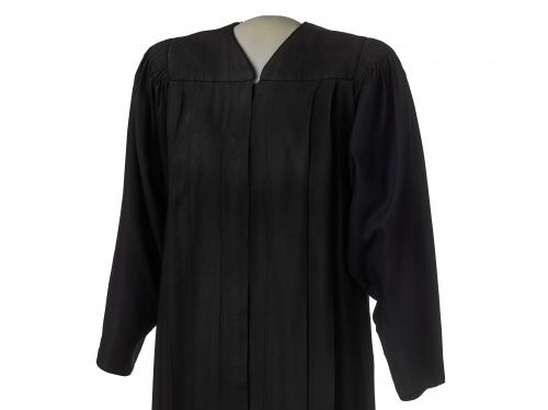 Black judicial robe