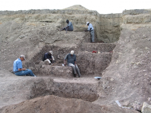 Excavation site