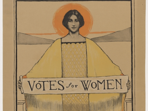 Votes for Women Poster